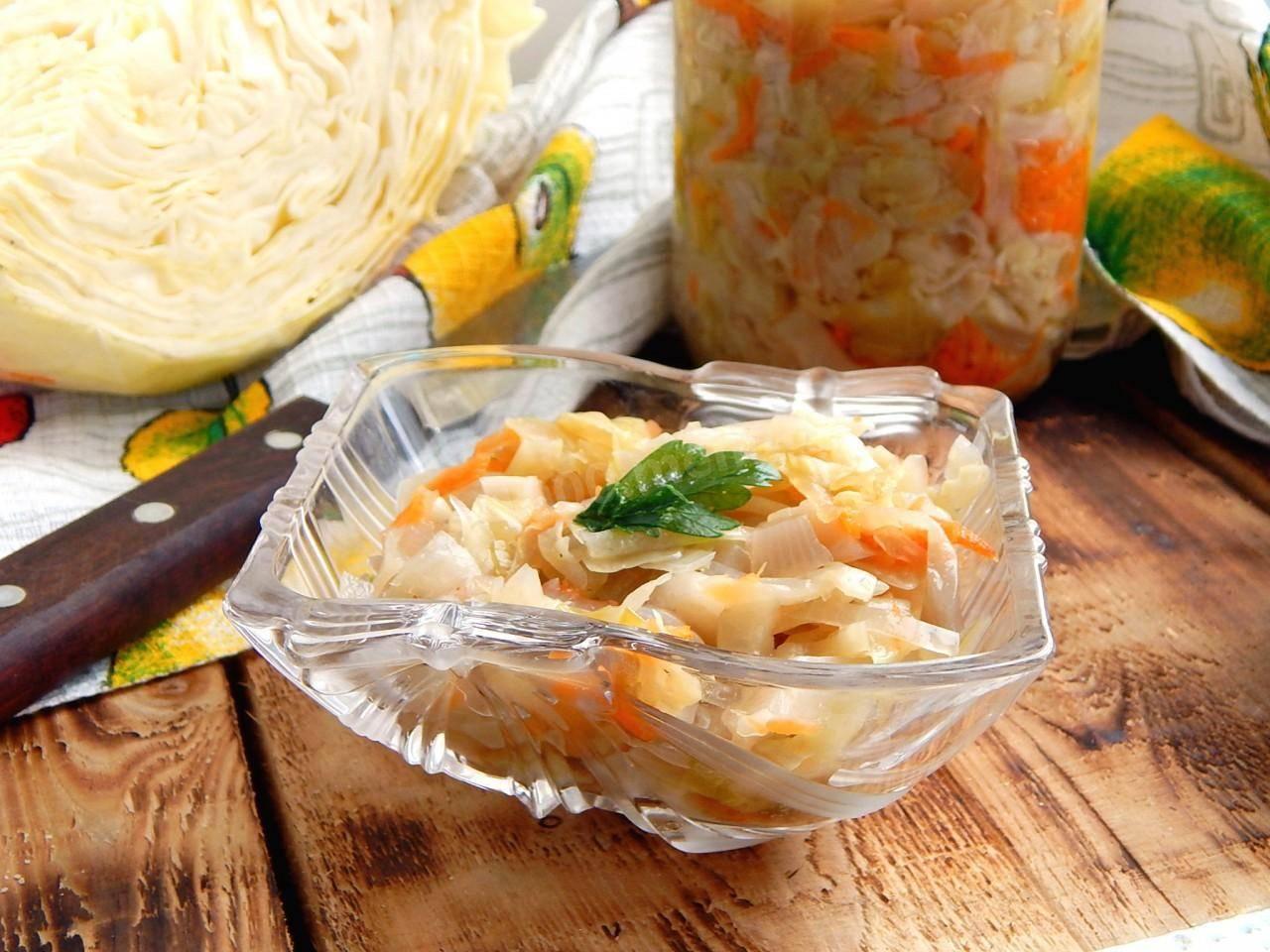 4 лучших рецепта приготовления квашеной капусты без соли