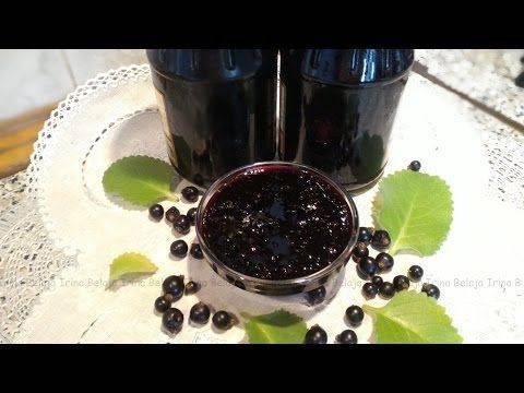 Варенье 5-минутка из черной смородины желеобразное – 6 пошаговых рецептов
