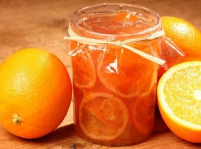 Апельсиновый джем с лимоном за 30 минут