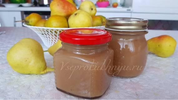 Пюре из груш: лучшая подборка рецептов домашнего грушевого пюре