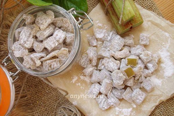 Цукаты из ревеня: рецепты приготовления