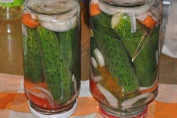 4 лучших рецепта консервированных огурцов с рябиной на зиму