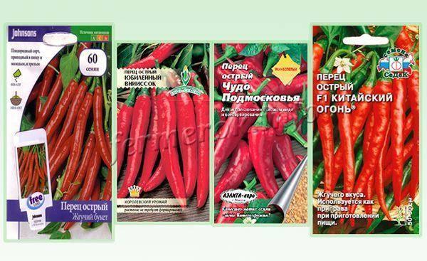 Сорта острого перца: разнообразие видов и 3 самых жгучих