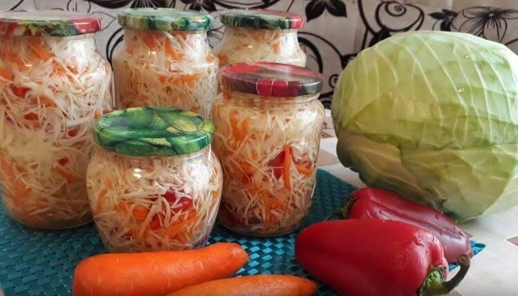 «быстрая» маринованная капуста. рецепт приготовления классического русского блюда