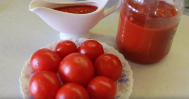 Кетчуп на зиму без стерилизации