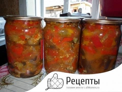 5 лучших рецептов консервированных заготовок из перца и помидор на зиму
