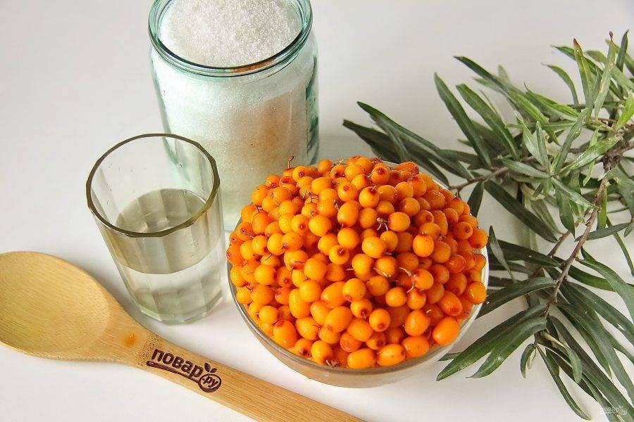 Простые рецепты приготовления облепихового джема на зиму в домашних условиях