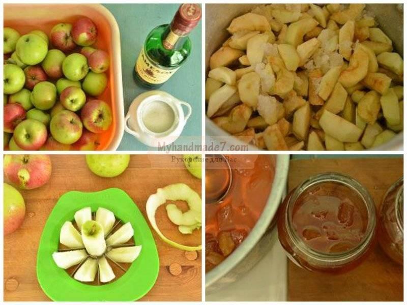 Топ 3 рецепта приготовления варенья из сладких яблок на зиму