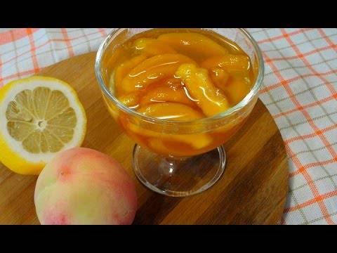 Варенье из абрикосов и персиков вместе на зиму: как сварить быстро и просто