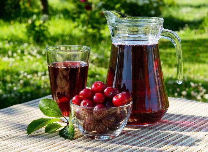 Виноградный сок домашнего приготовления