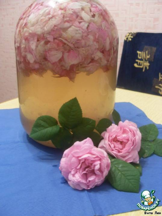 Наливки из лепестков роз — все нюансы