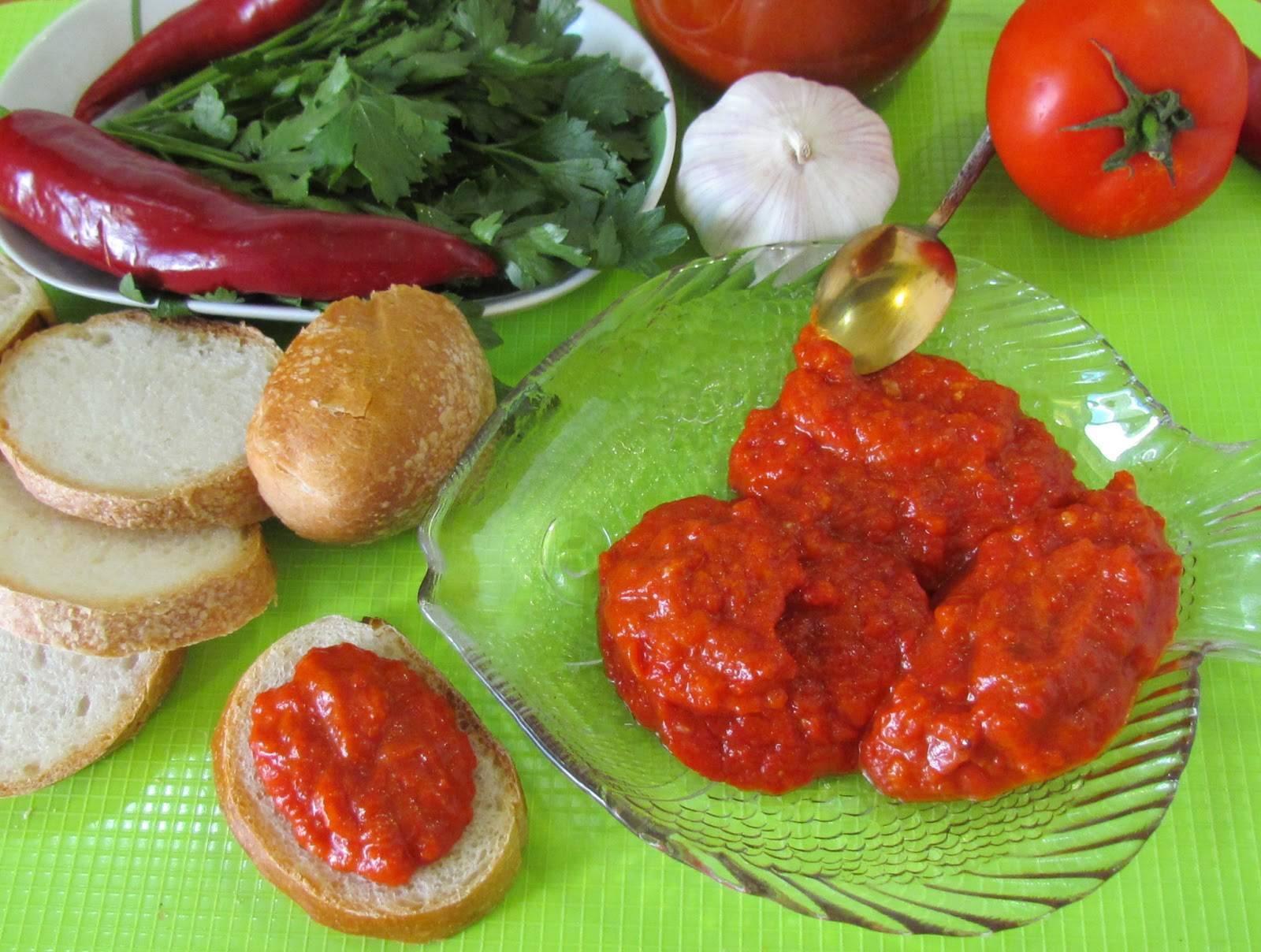 Лютеница по-болгарски на зиму — простой и вкусный рецепт