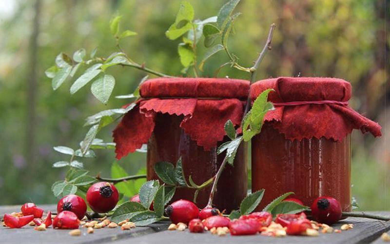Простой рецепт варенья из красной рябины на зиму