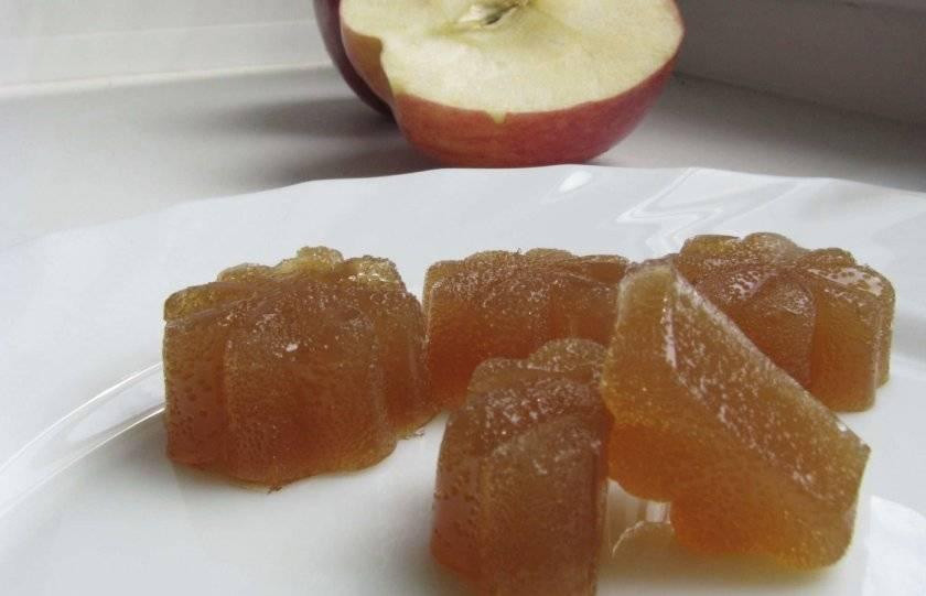 Как сделать мармелад из яблок в домашних условиях