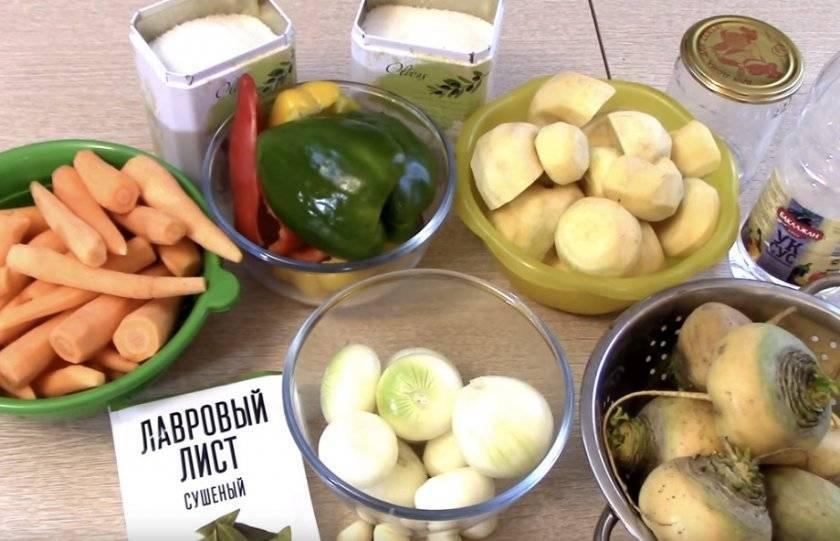 Заготовки из репы на зиму: способы приготовления, рецепты