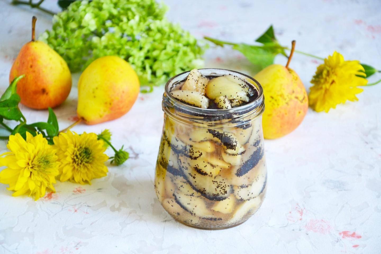Простой рецепт приготовления грушевого варенья с маком на зиму