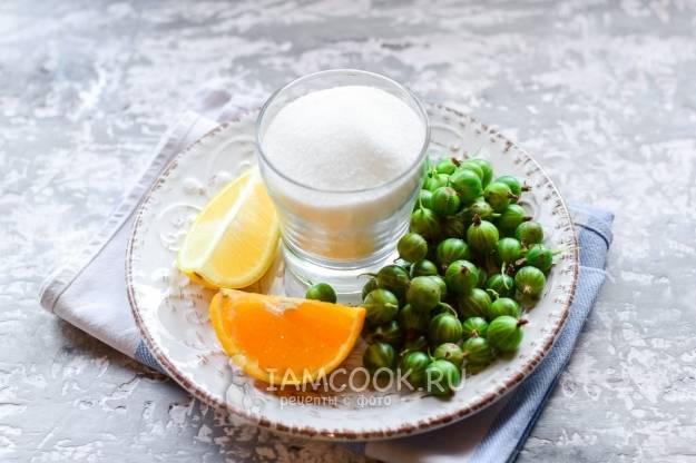 ТОП 3 рецепта варенья из крыжовника с апельсином и лимоном на зиму