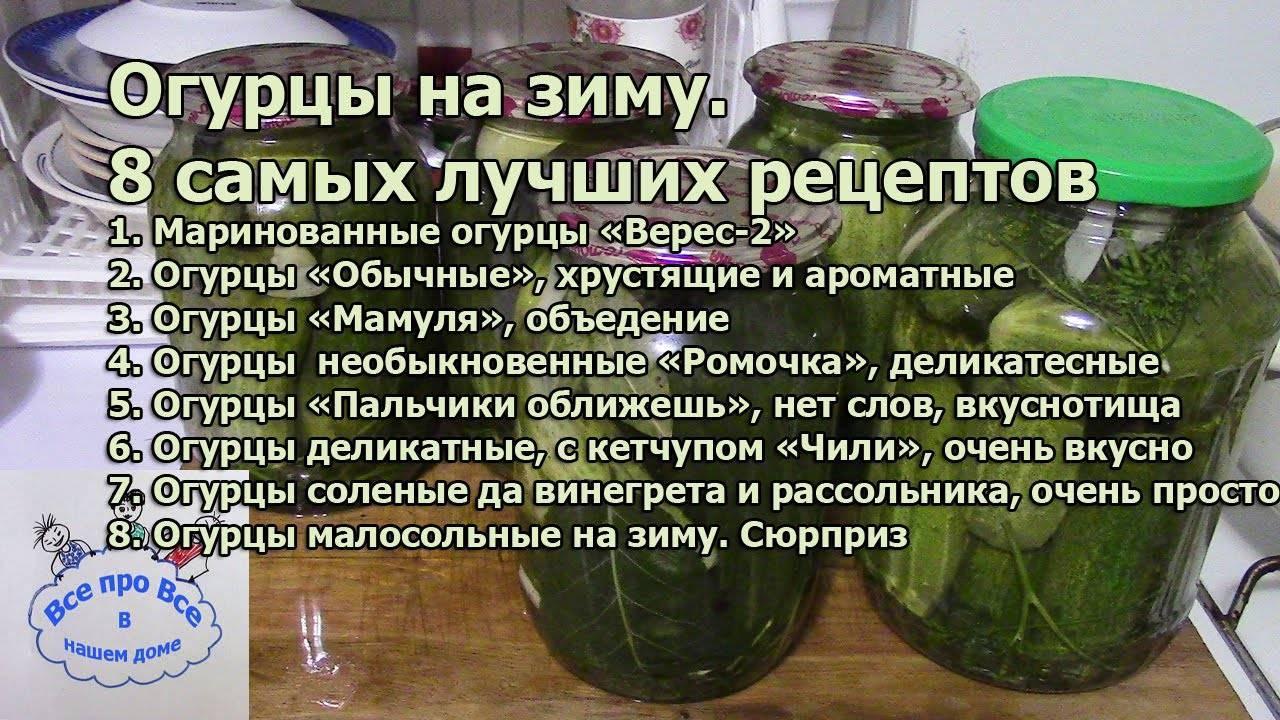 ТОП 8 рецептов приготовления маринованных холодным способом огурцов на зиму