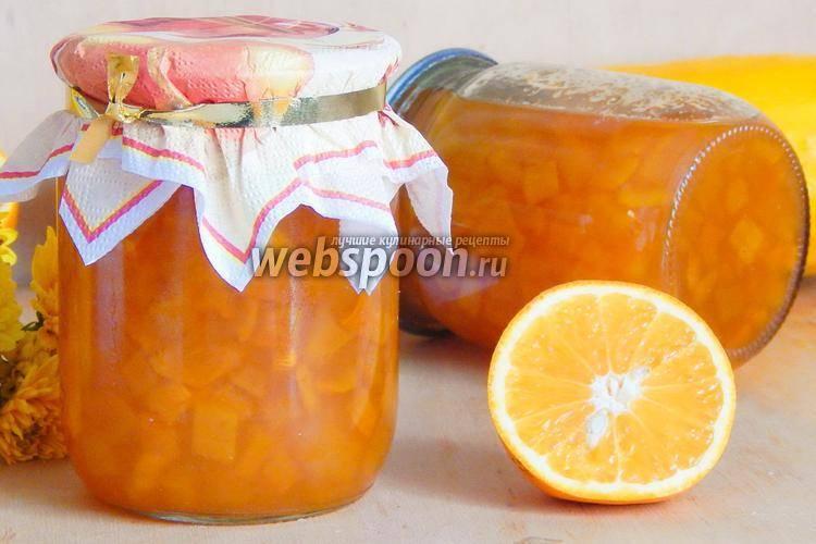 10 лучших рецептов вкусного варенья из кабачков с апельсинами