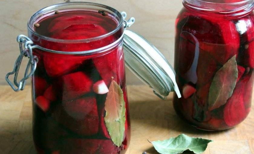 Маринованная и консервированная свекла на зиму – лучшие рецепты. как замариновать свеклу для винегрета, борща, сырую, вареную, тушеную, без стерилизации на зиму в банках?