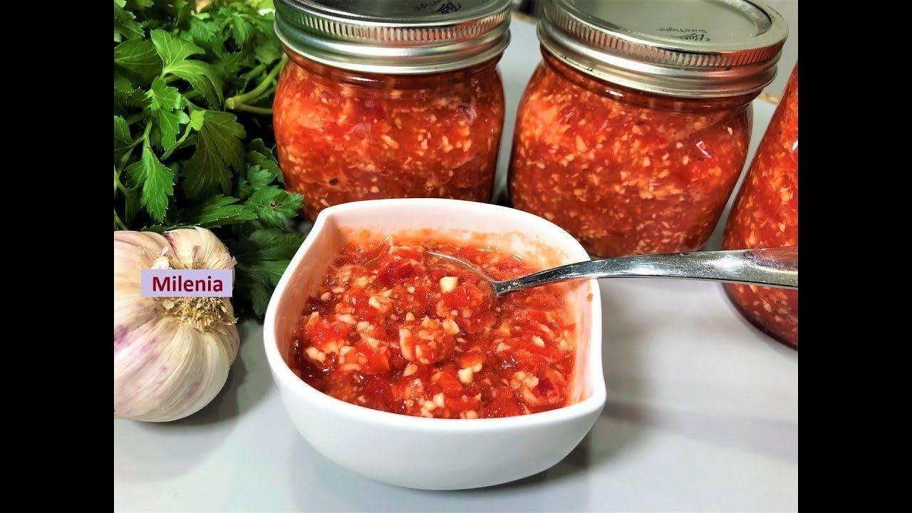 Огонек из помидор рецепт на зиму
