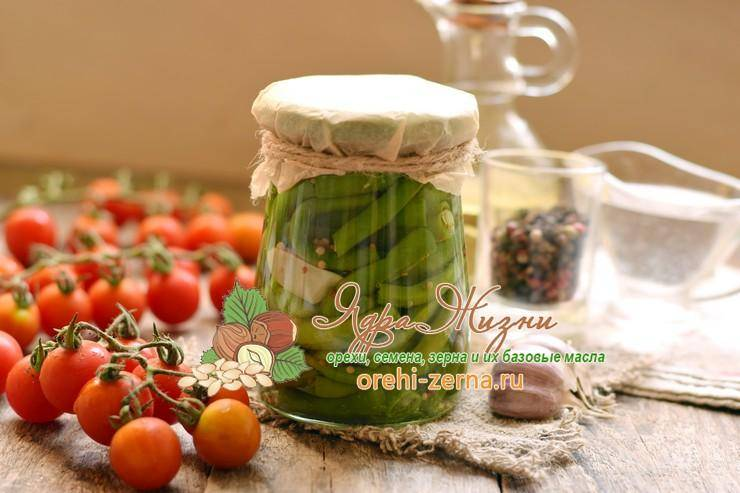 ТОП 10 рецептов приготовления спаржевой фасоли на зиму, со стерилизацией и без