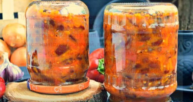Рецепты греческой закуски с фасолью на зиму