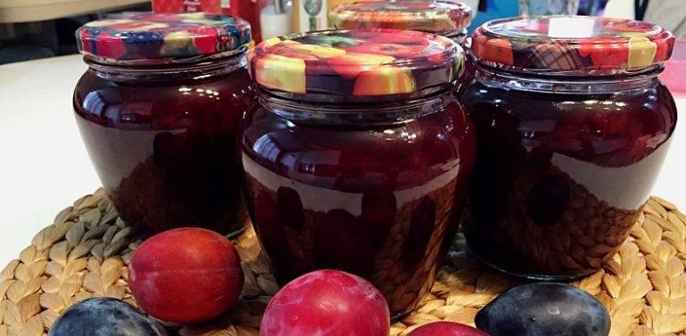 Простые рецепты густого джема и конфитюра из яблок на зиму в домашних условиях
