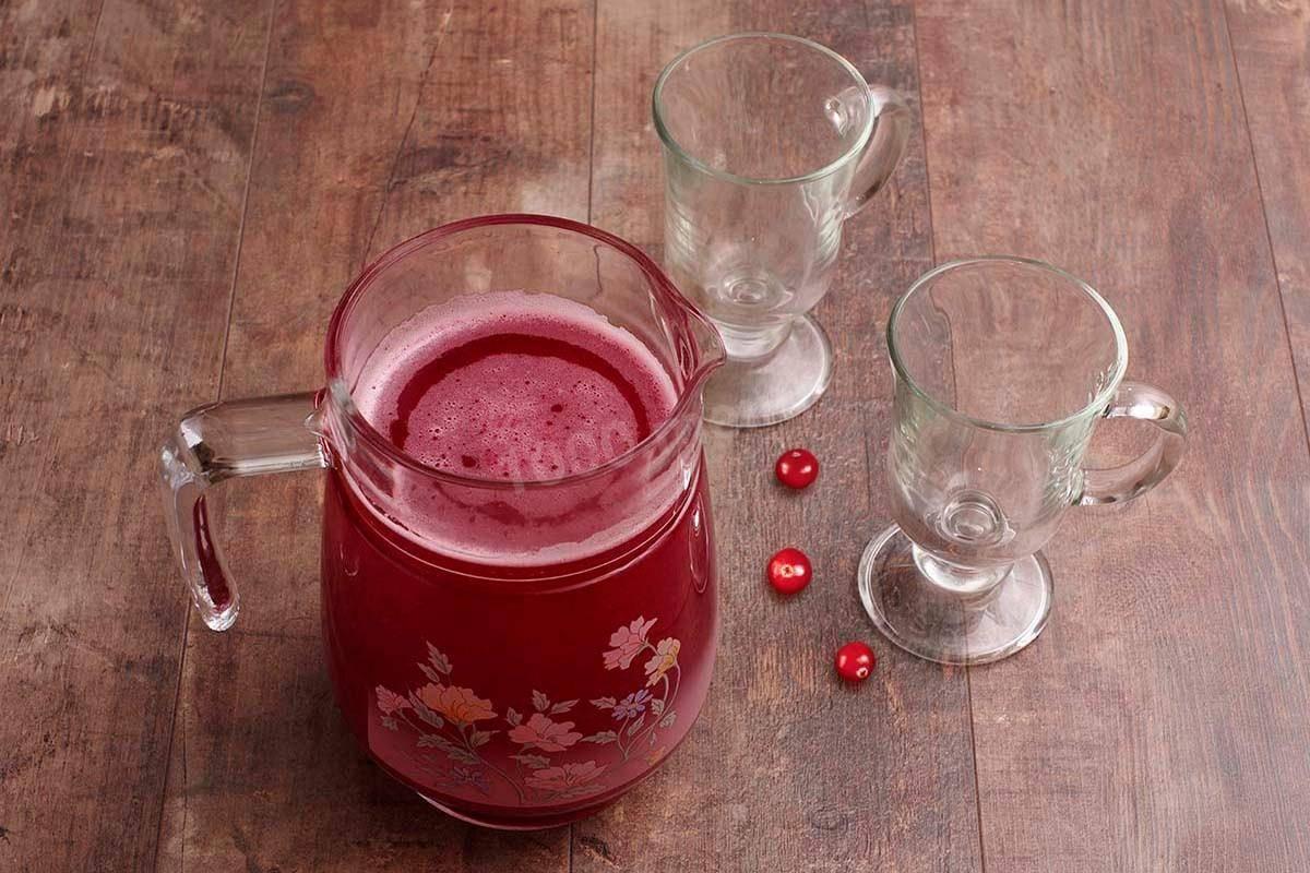 Лучшие витаминные напитки из брусники