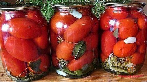 Маринованные помидоры на зиму – 5 самых вкусных рецептов. пальчики оближешь