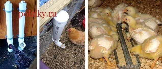 Пошаговая инструкция, как сделать кормушку для цыплят своими руками