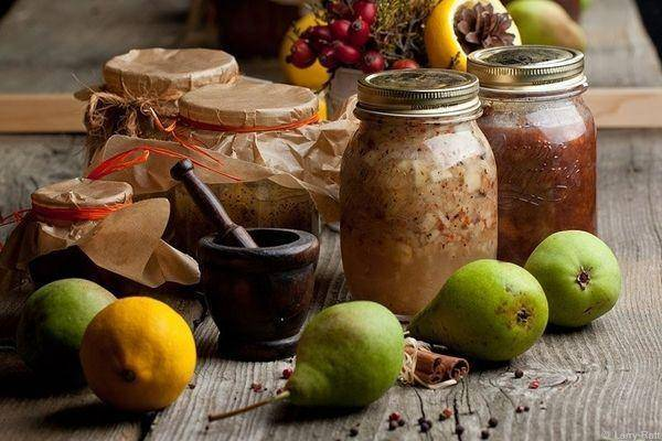 Пошаговый рецепт приготовления варенья из целых груш на зиму