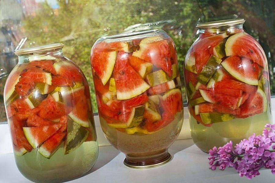 Как сохранить арбуз на зиму— рецепты заготовок