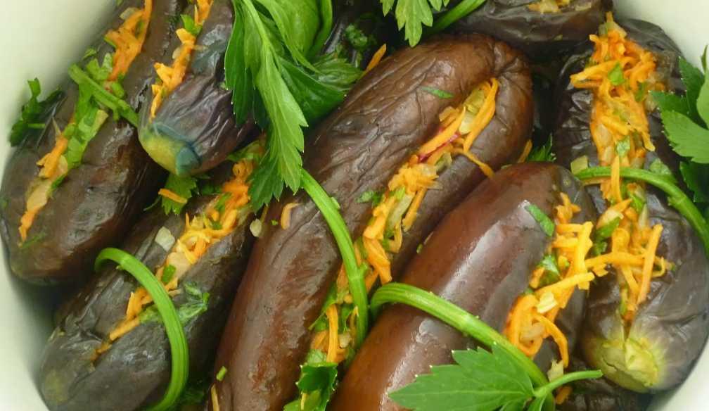 10 лучших рецептов приготовления баклажанов с чесноком на зиму