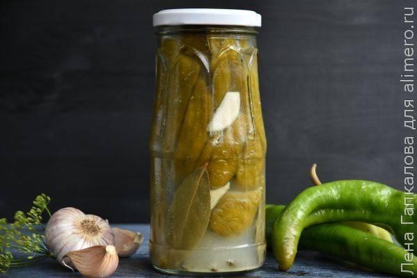 Рецепты маринованного горького перца цицак по-грузински на зиму