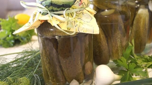 Маринованные хрустящие огурцы без стерилизации: вкусные рецепты на зиму