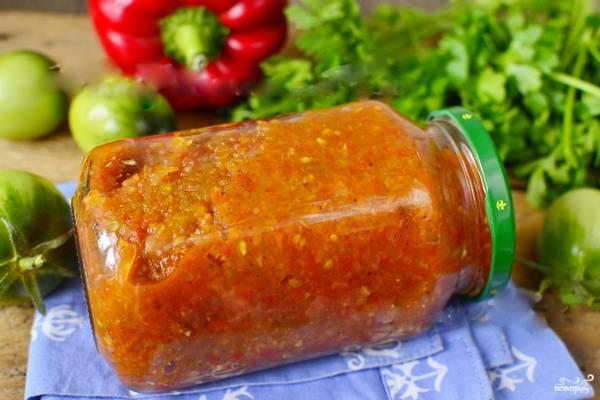 Икра из зеленых помидоров – рецепты на зиму