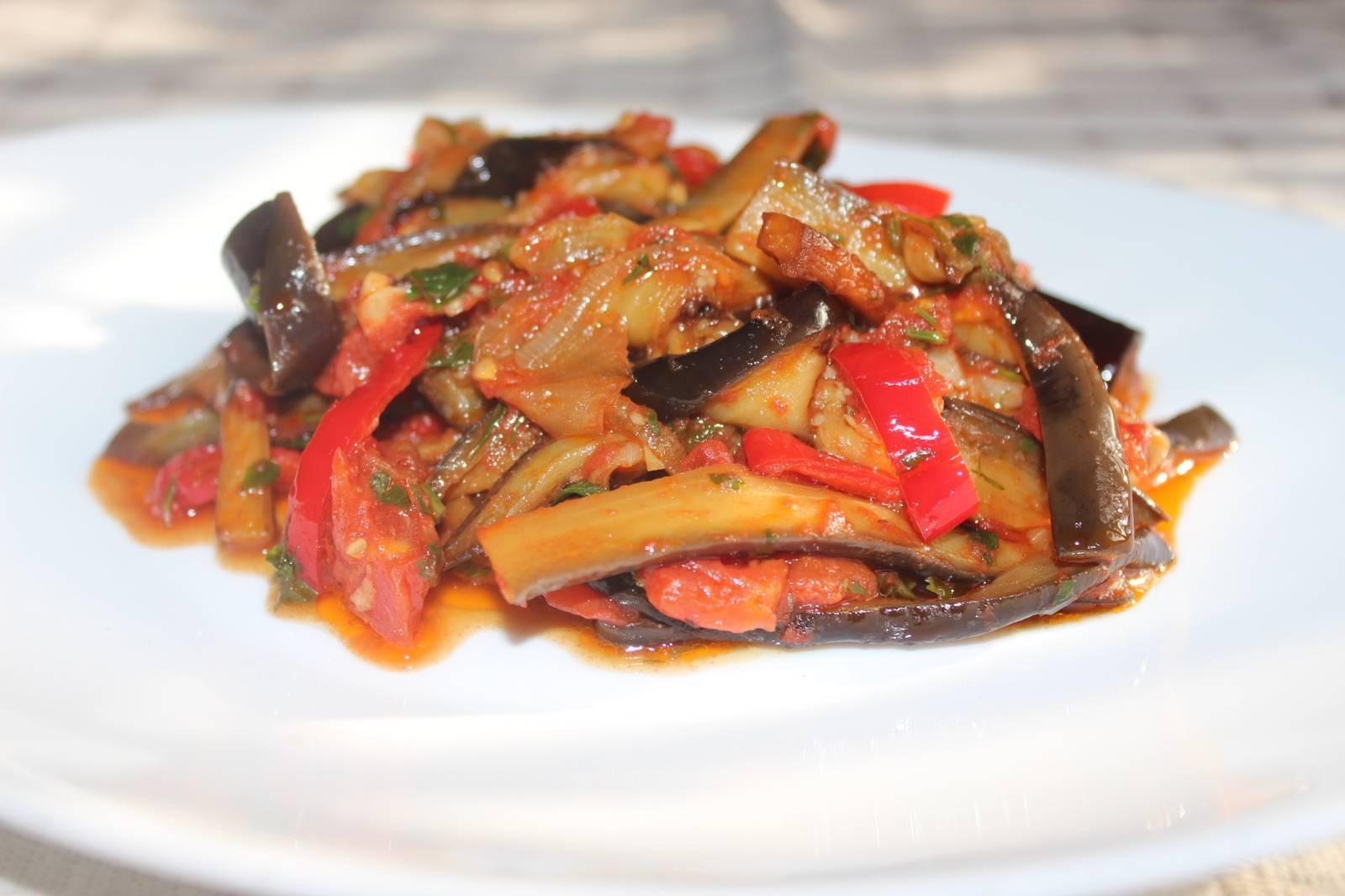 Кавказский аджапсандал: 7 рецептов полезного блюда из баклажанов