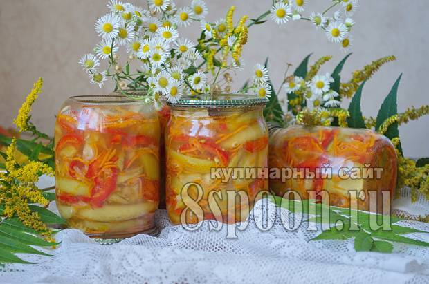 Перец горький по армянски с маслом маринованный