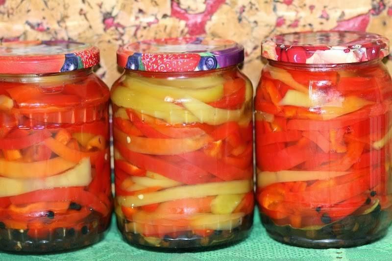 Топ-5 рецептов заготовок: маринованный перец на зиму