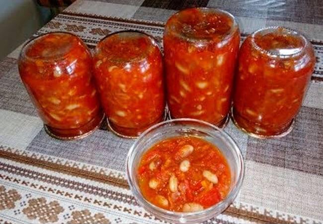 Готовим вкусную фасоль в томате на зиму: подборка лучших рецептов домашнего консервирования