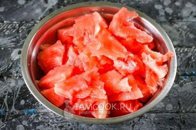 Простой рецепт сиропа из арбузного сока пошагово с фото
