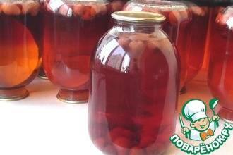Компот из клубники на зиму на 3 литровую банку — 6 простых рецептов компота