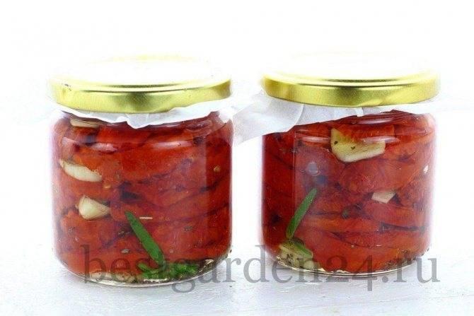 Как приготовить вяленые помидоры на зиму