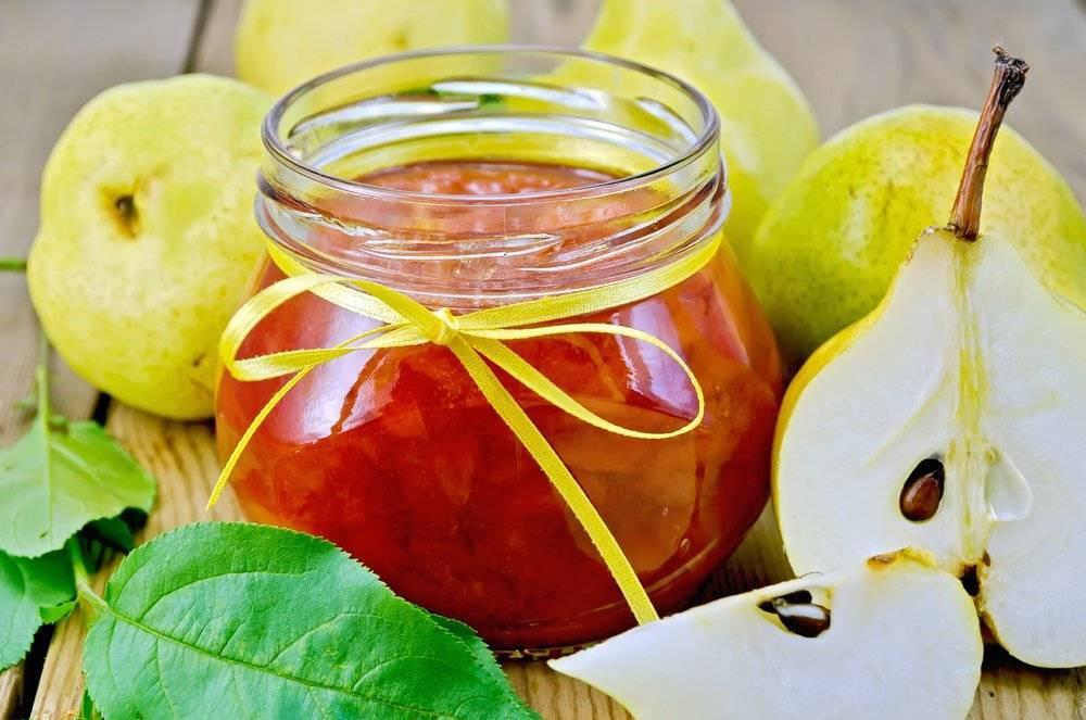 13 лучших рецептов приготовления варенья из груш северянка на зиму