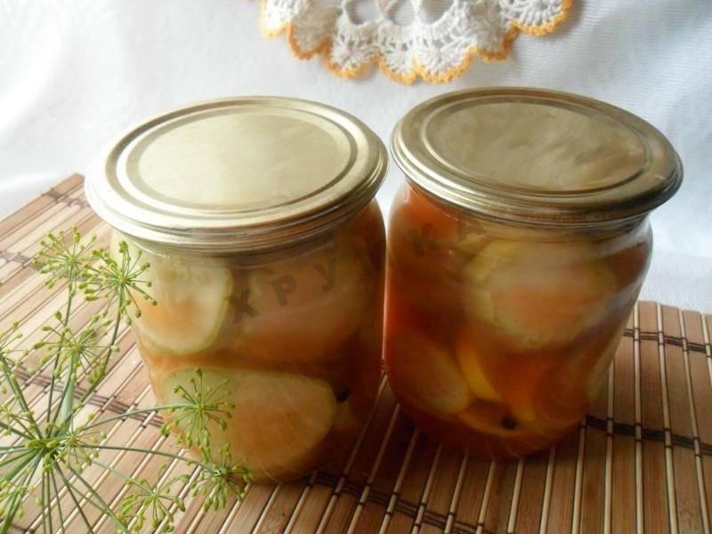 6 рецептов консервированных кабачков с кетчупом чили на зиму со стерилизацией и без