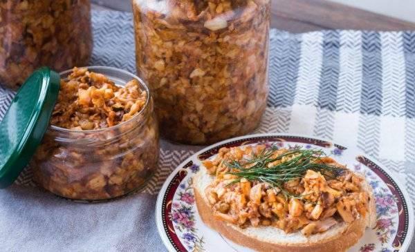 Солёные грибы - универсальный рецепт