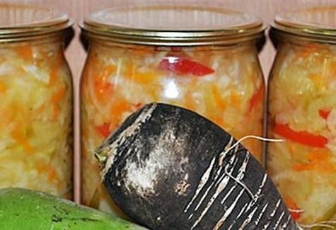 Рецепты маринования и хранения заготовок из редьки на зиму