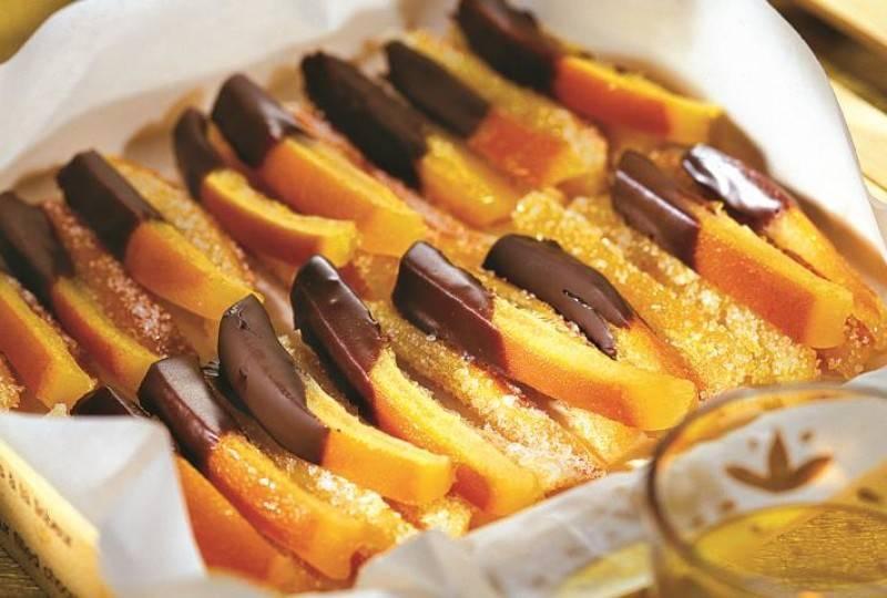 Быстрые рецепты приготовления цукатов из апельсиновых корок в домашних условиях