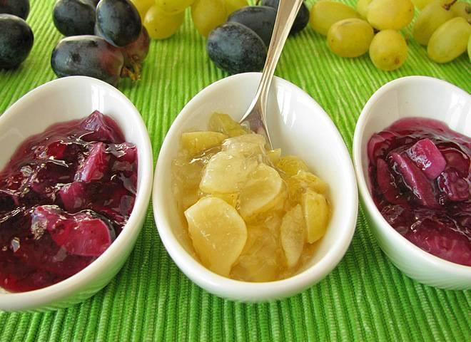 Варенье из винограда — лучшие рецепты вкусного лакомства! джем из винограда с косточками на зиму — рецепт с фото